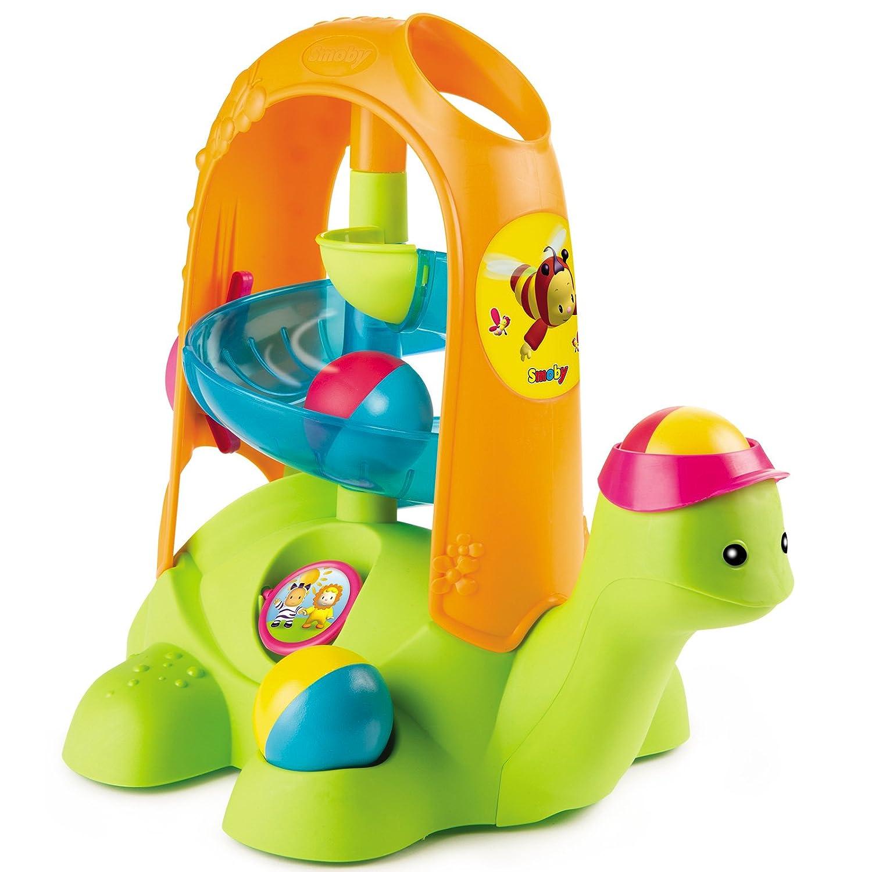 #0618 Baby Kugelbahn inklusive 2 Bälle Schildkröten • Schildkröte Murmelbahn Motorik Spielzeug Kind H-Collection
