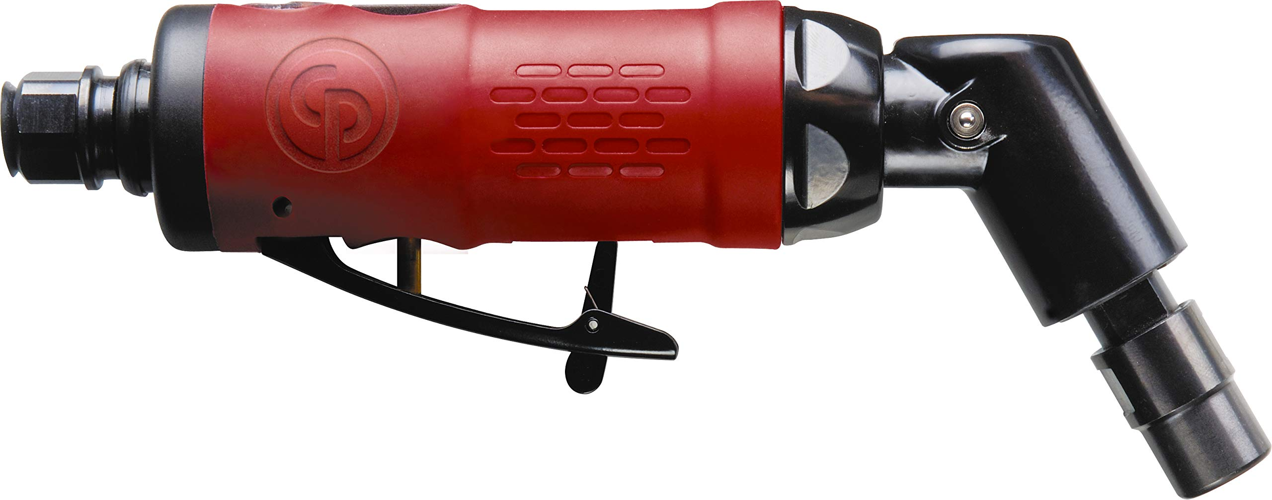 Chicago Pneumatic CP9108Q-B Heavy Duty Die Grinder with Inbuilt Air Regulator and 120 Degree Angled Shaft, 23,000 RPM