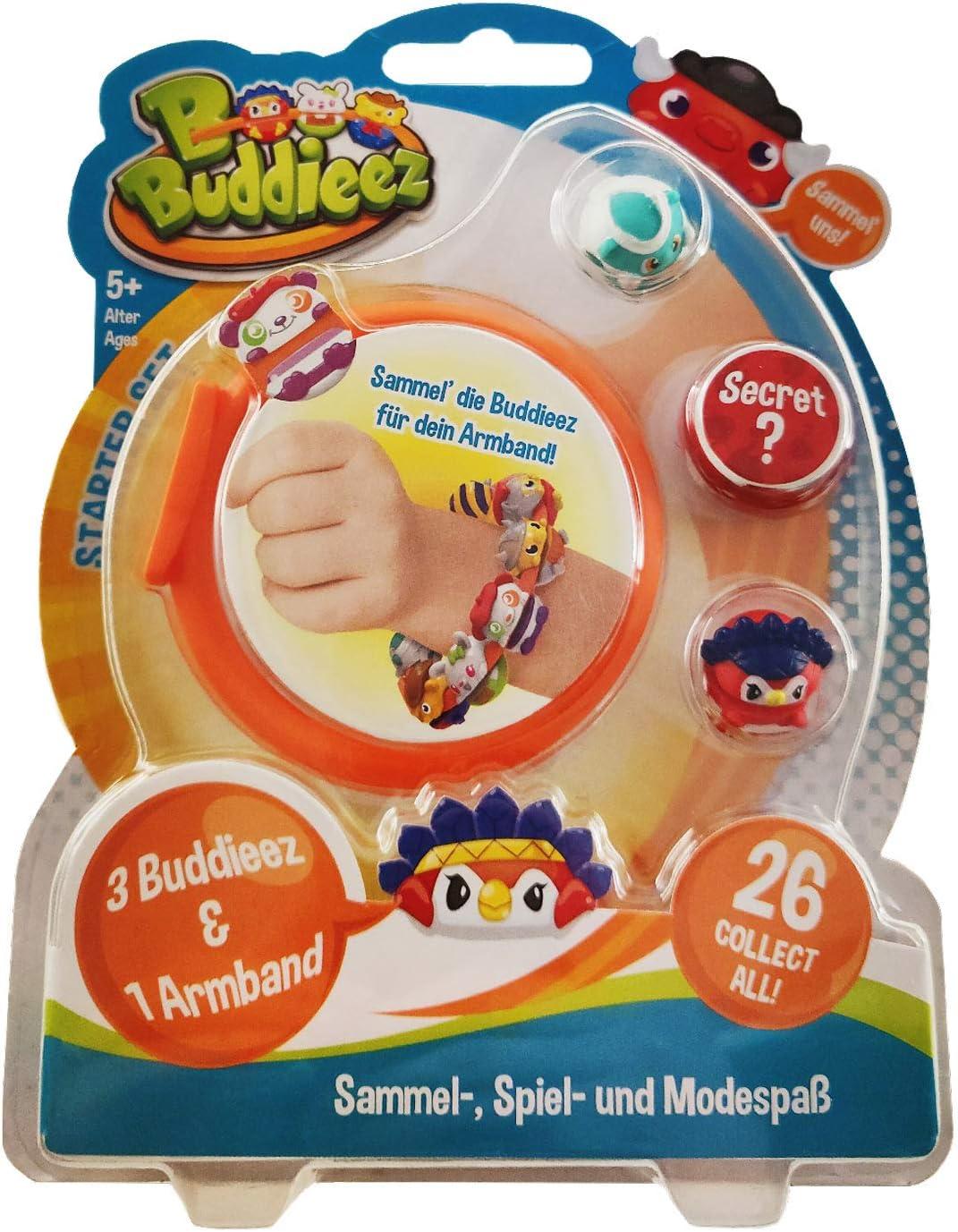 BBuddieez 4834-3 Buddieez y un Pulsera, Cooler Colección Divertida para Niños de 5-12 Años: Amazon.es: Juguetes y juegos