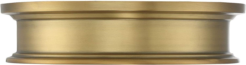 "Savoy House 6-133-16-322 Watkins Warm Brass Flush Mount (16\"" W x 4\""H)"