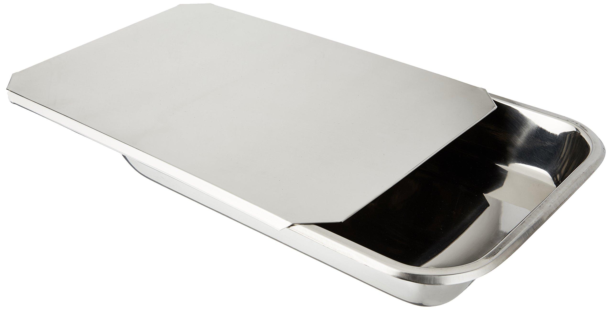 Hammer Stahl 9'' x 13'' Covered Bake Pan, Stainless Steel