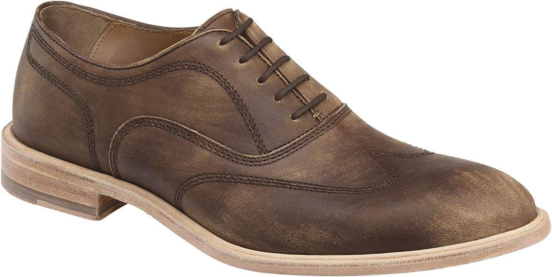 Johnston /& Murphy Mens Chambliss Wingtip Shoe