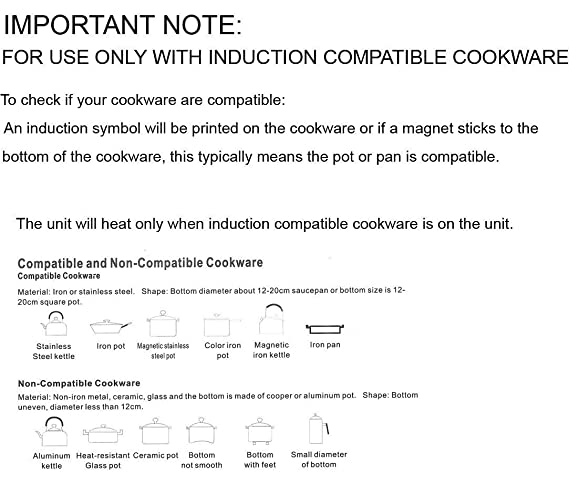 Amazon.com: Inducto - Placa encimera de cocción de ...