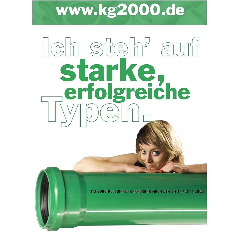Unterschiedlich KG 2000 Rohr DN 125: Amazon.de: Baumarkt YY53