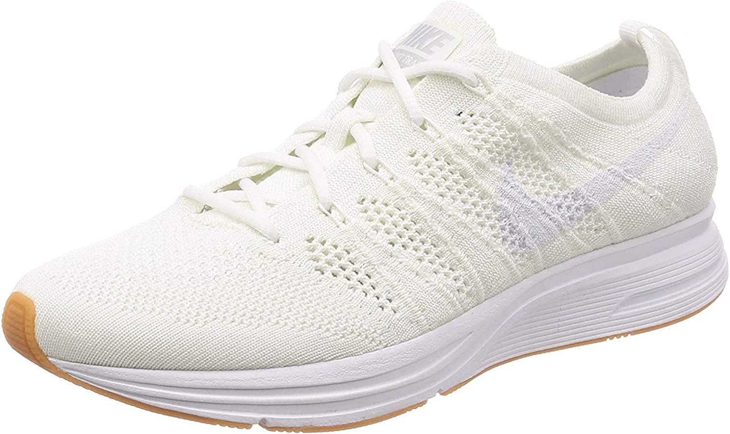 nike flyknit trainer all white