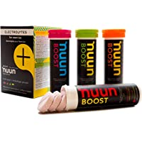 Nuun Boost Hydrating Electrolyte Tablets, Mixed Flavors, 4 count
