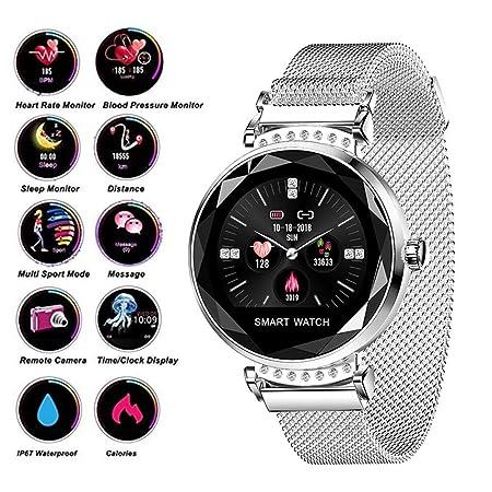 HUWAI-F Reloj Inteligente Smartwatch Pulsera Inteligente ...