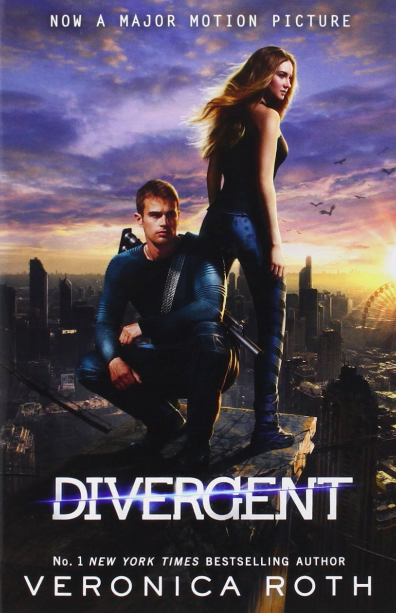 divergent by veronica roth I have to start by saying that watching the divergent movie made me want to read the book i really enjoyed the movie and i thought for sure there was more in the book.