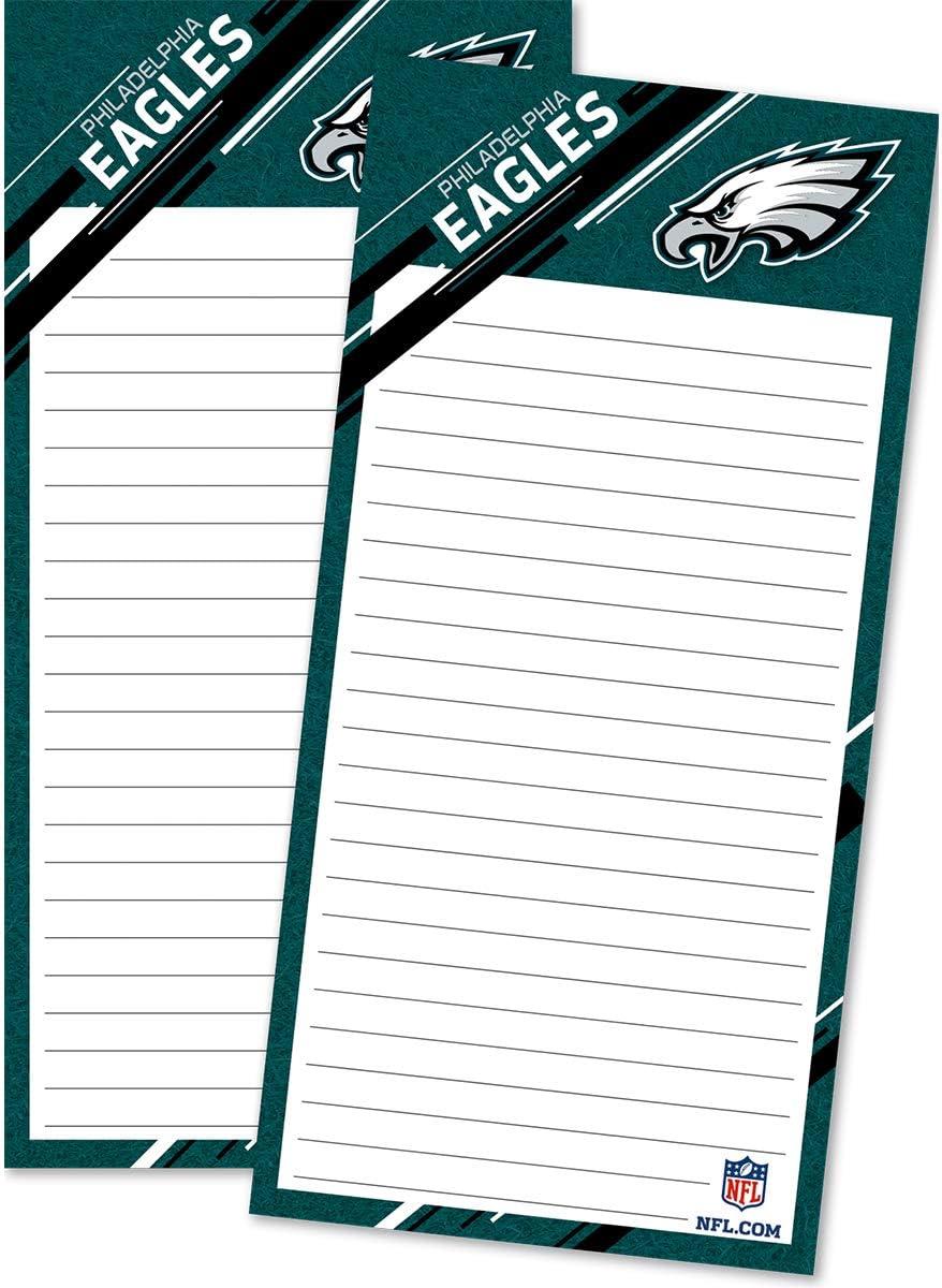 Turner Sports Philadelphia Eagles 2 Pack List Pad (8129107)
