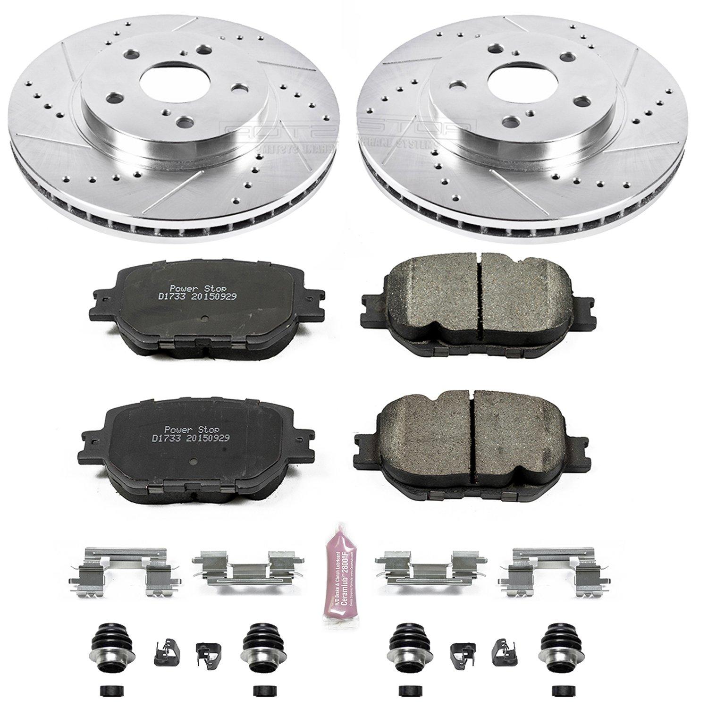 Amazon Power Stop K6990 Front Z23 Evolution Brake Kit with