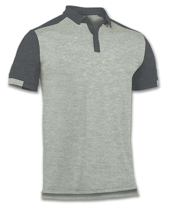 Joma Comfort Polo Shirt S/S Tenis Hombre, Gris: Amazon.es ...