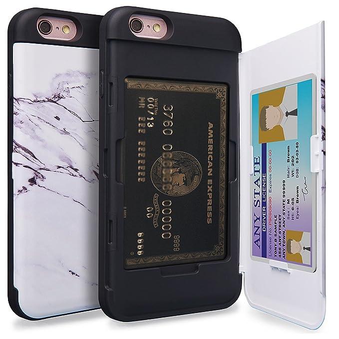 iphone 6 coque fentes pour cartes de crédit