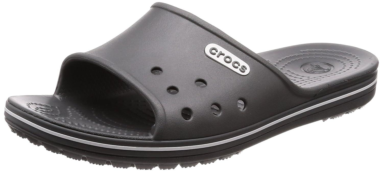crocs Unisex-Erwachsene Crocband 2 Slide Badeschuhe  41/42 EU|Grau (Slate Grey/White)