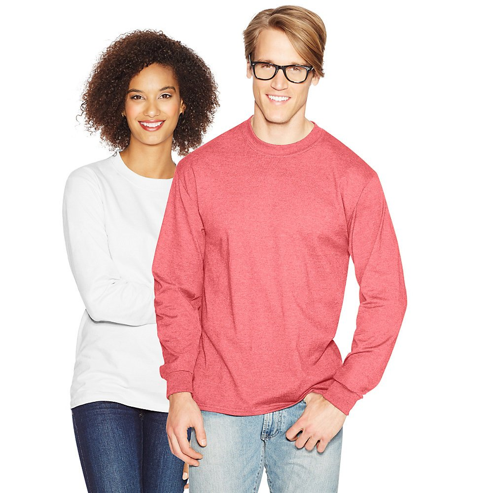Hanes 5186 BEEFY-T Long Sleeve T-Shirt