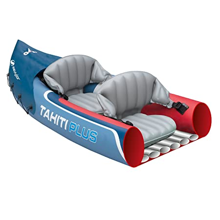 Sevylor Tahiti Plus 2 + 1 hombre canoa canadiense Kayak inflable ...