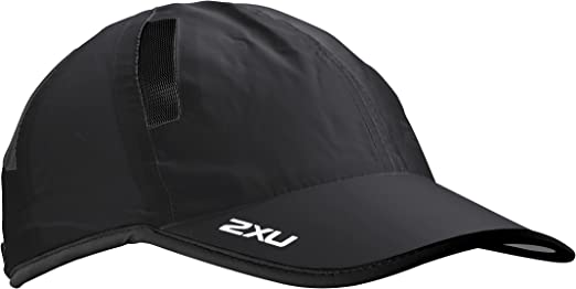 2XU Unisex Running Cap Blue Sports Breathable Lightweight