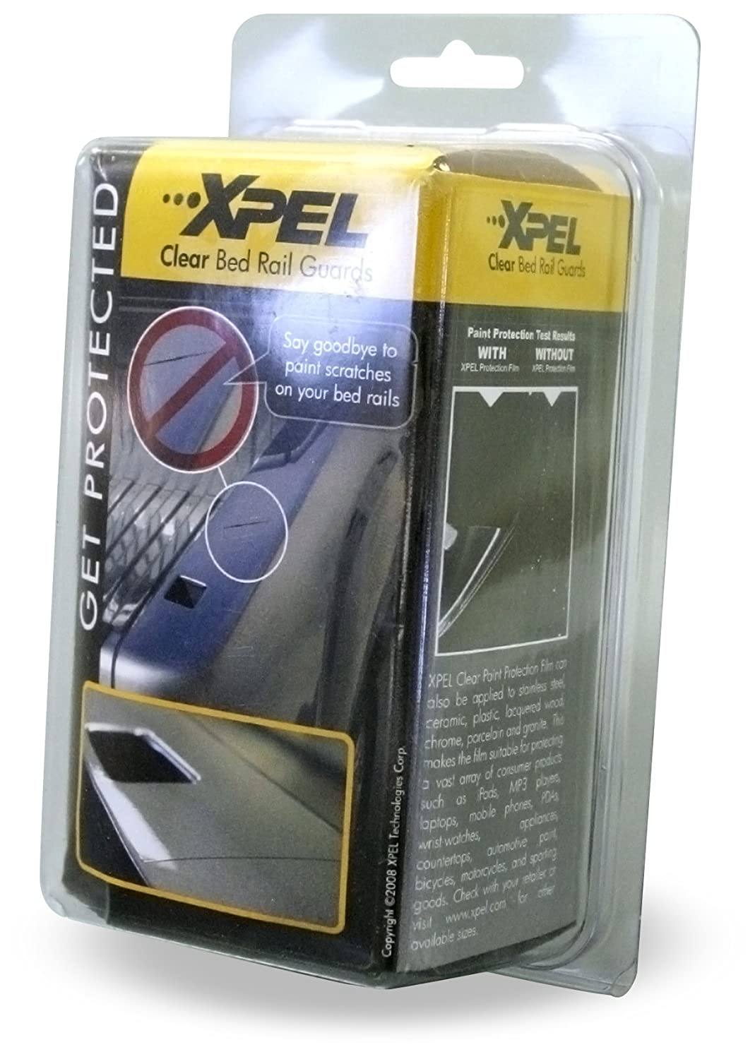 XPEL Clear Universal Bed Rail Guard Paint Protection Film Kit 17 x 4