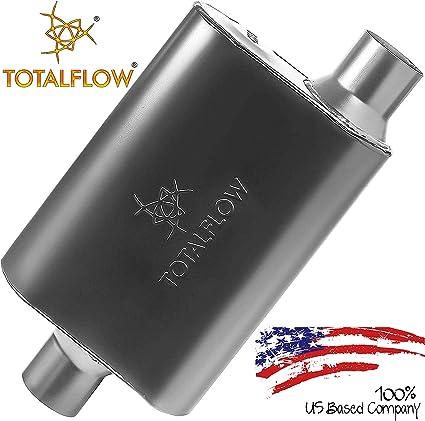 """Flowmaster 42542 Original 40 Series Muffler 2.5/"""" Center Inlet//Offset Outlet"""