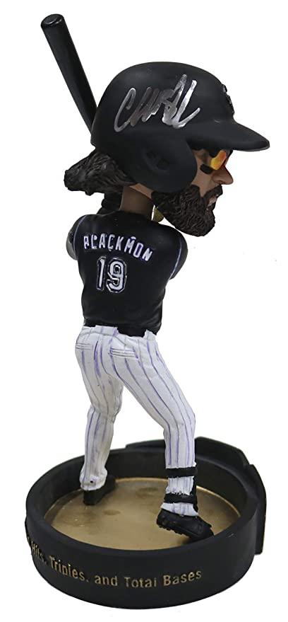 bb0886c52b3 Charlie Blackmon Colorado Rockies Signed Autographed Bobblehead JSA ...