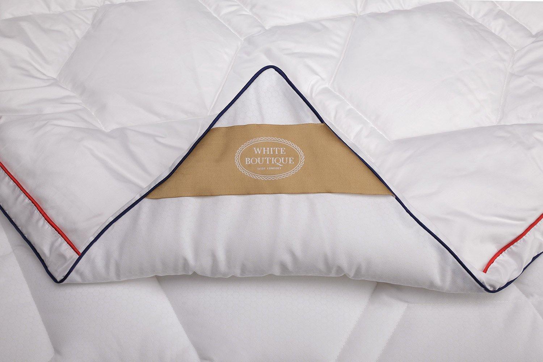 White Boutique 睡眠セット - ピロー キルト サーモ バランス - 長持ちテクノロジー - 優れた保温性 - クールな睡眠 - 2個パック B07JJYWX3H