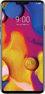 "LG V40 ThinQ (64GB, 6GB RAM) 6.4"" QHD+ FullVision Display, 5-Camera, IP68 Dust/Water Proof, 4G LTE GSM Unlocked Smartphone - US Warranty (T-Mobile Unlocked)"