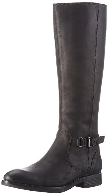Sebago Nashoba Low Boot WP, Bottes Classiques Femme, Noir (Black Leather WP), 38 EU