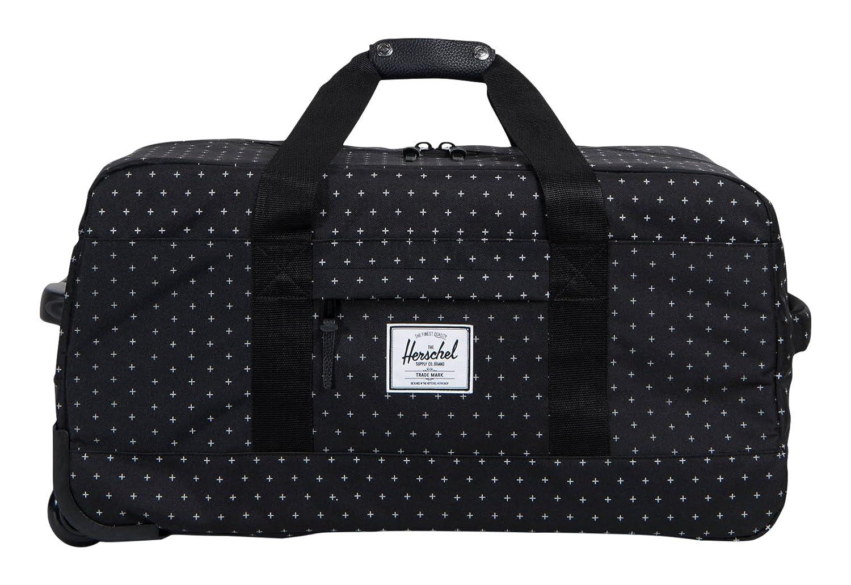 Herschel Supply Co. Wheelie Outfitter (Update), Black Gridlock   Amazon.co.uk  Luggage f579b0ae05