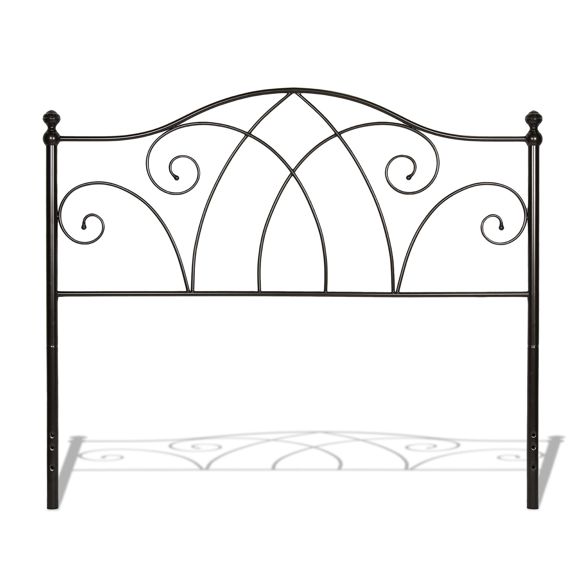 photos of platform headboards fancy antique double metal clubanfi costco frame white large wrought rod beds single bed bedroom full iron headboard king luxury sleigh size vintage queen frames