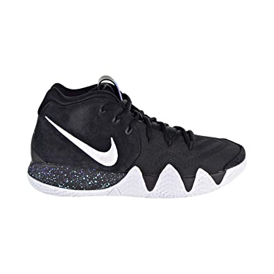 sports shoes 75276 ad402 Nike Kids  Grade School Kyrie 4 Basketball Shoes (4, Black Rage Green