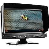 "15/"" 38cm Quadbild Split CCTV LED Backlight Monitor Video Überwachungsmonitor"