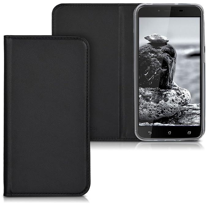 1 opinioni per kwmobile ASUS ZenFone 3 Max (ZC553KL) Cover- Custodia a Libro in Simil Pelle PU