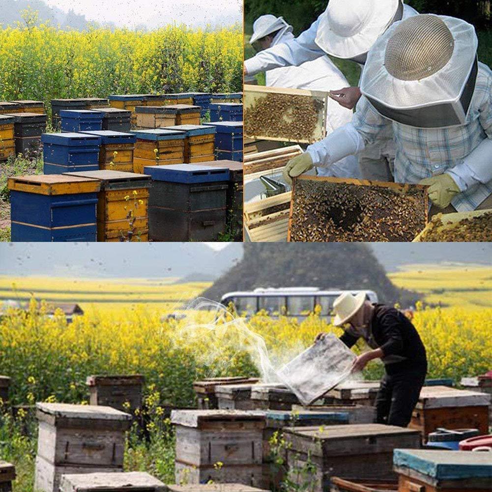 WENHAOYU Bee Hive Smoker Stainless Steel Smoke Machine Beekeeping Equipment Tool Superior Airflow Bellow