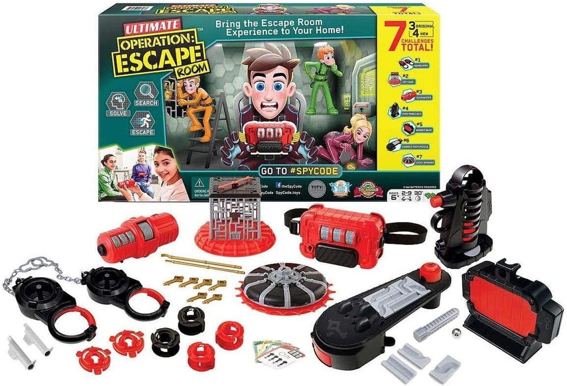 Spy Code Ultimate Operation Escape Room Game: Amazon.es: Juguetes ...