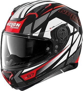 Nolan Herren N87 Originality N Com Glossy Black M Helmet Schwarz M Auto