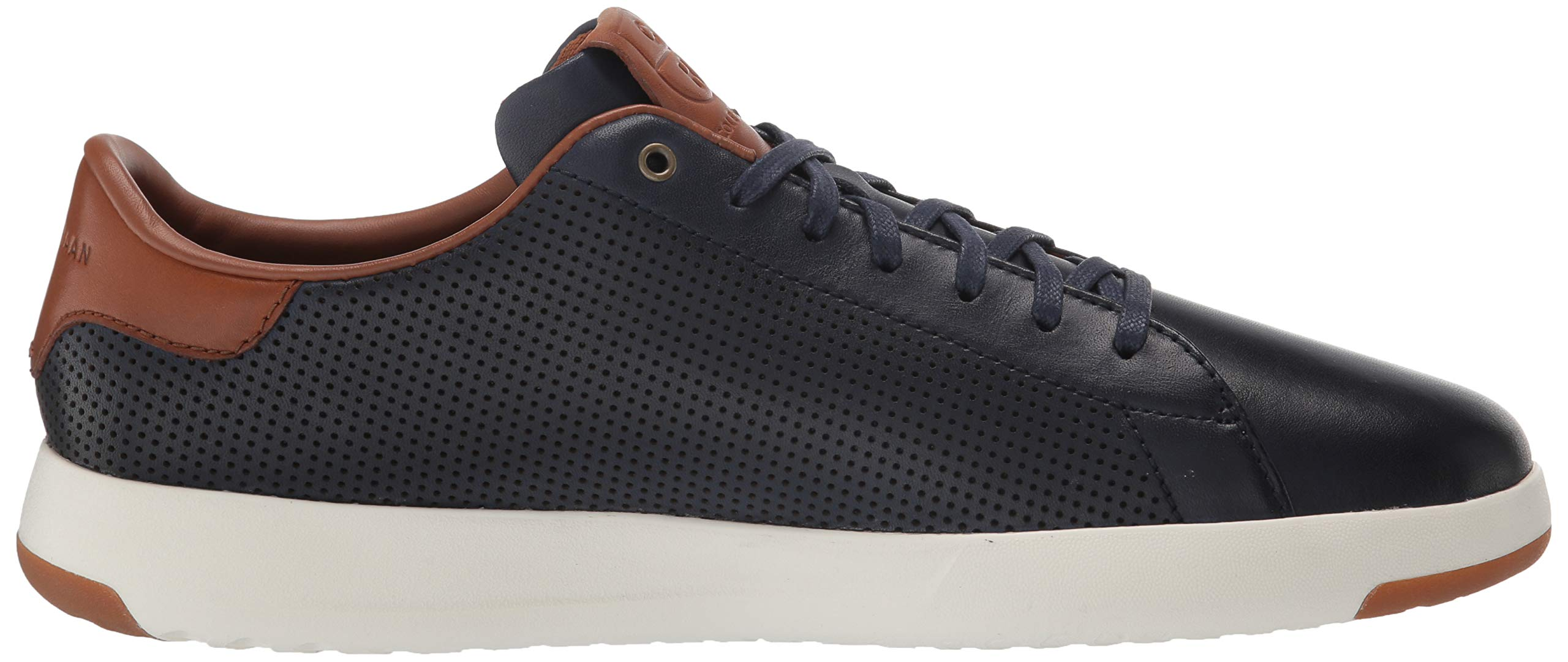 Cole Haan Mens Grandpro Tennis Sneaker 7 Navy Handstained Leather by Cole Haan (Image #7)