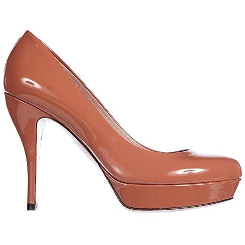 179d2c52eeb6 Gucci Women Pumps Marrone Brown  Amazon.co.uk  Shoes   Bags