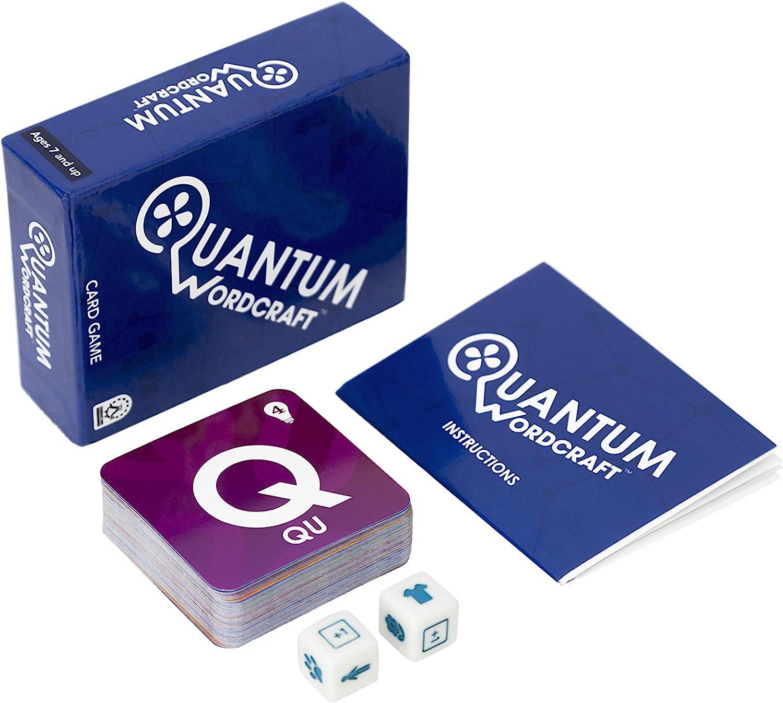 Quantum Wordcraft – Juego de Cartas de construcción de Palabras: Amazon.es: Juguetes y juegos