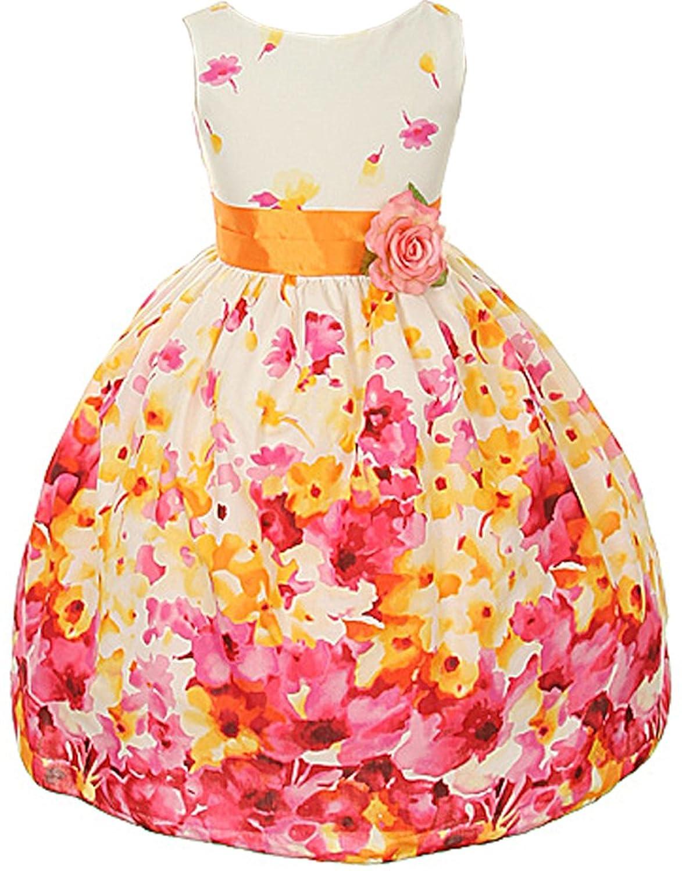 Amazon.com: Kids Dream Girls Floral Spring Easter Flower Girl ...