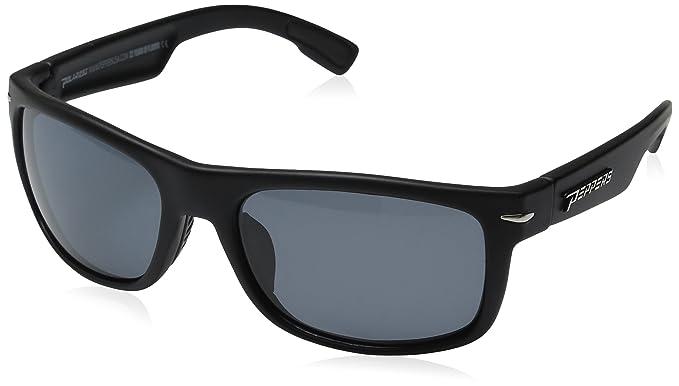 a7ea56cf4f4 Amazon.com  Pepper s Palisades Polarized Oval Sunglasses Matte Black ...