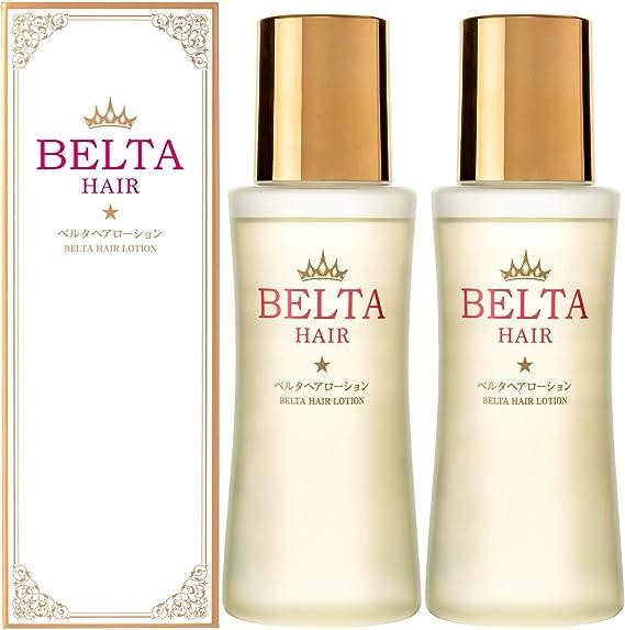 Amazon | 育毛剤 女性用 薬用 BELTA ヘアローション(2本セット) 抜け毛予防 薄毛対策 ヘア オイル 【医薬部外品】 | BELTA | 増毛・ボリュームアップスプレー 通販