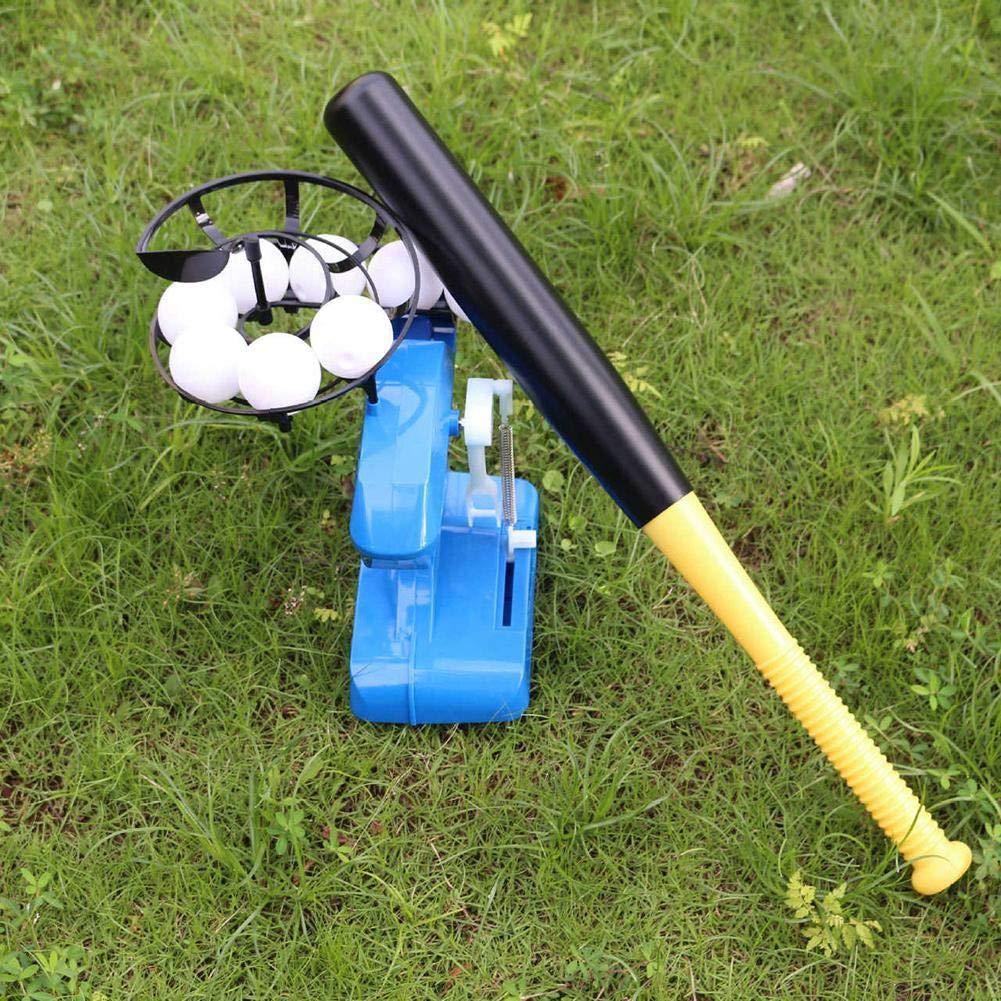 Liteness M/áquina De Lanzamiento De B/éisbol Electr/ónica Lanzamientos De Bola De Altura Ajustable Cada 8 Segundos para Ni/ños.