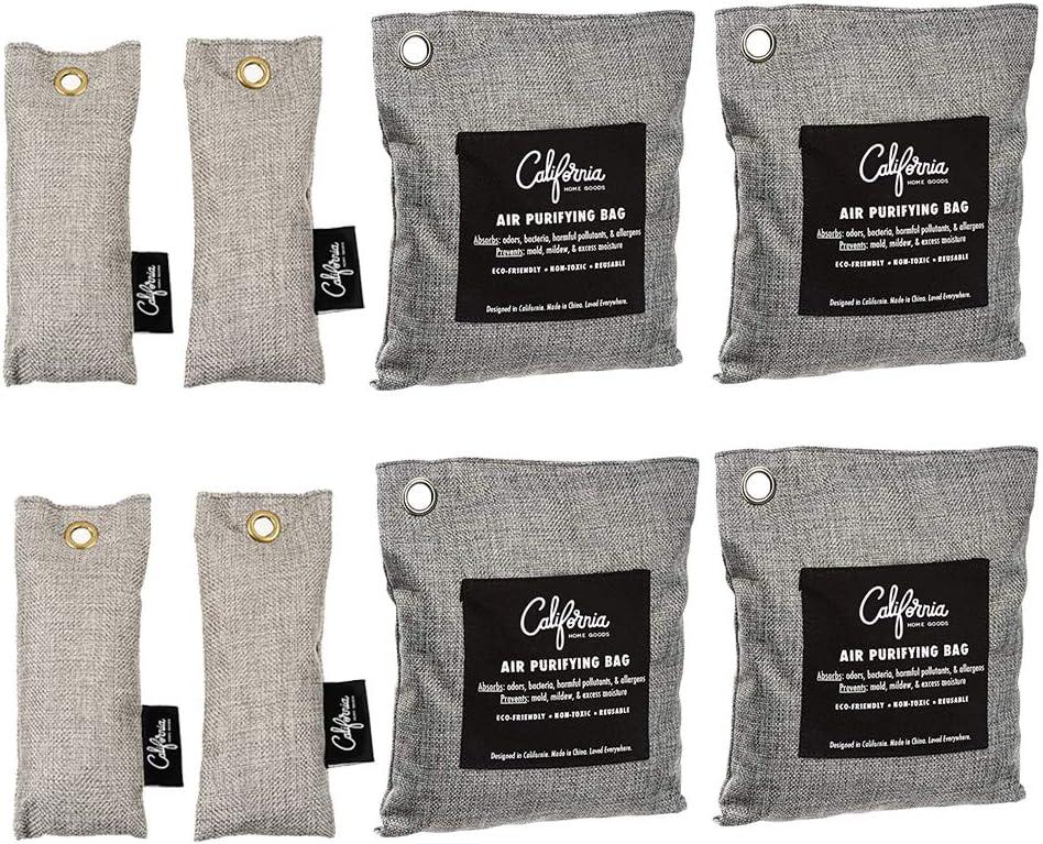 Bamboo Charcoal Odor Eliminator Bags}