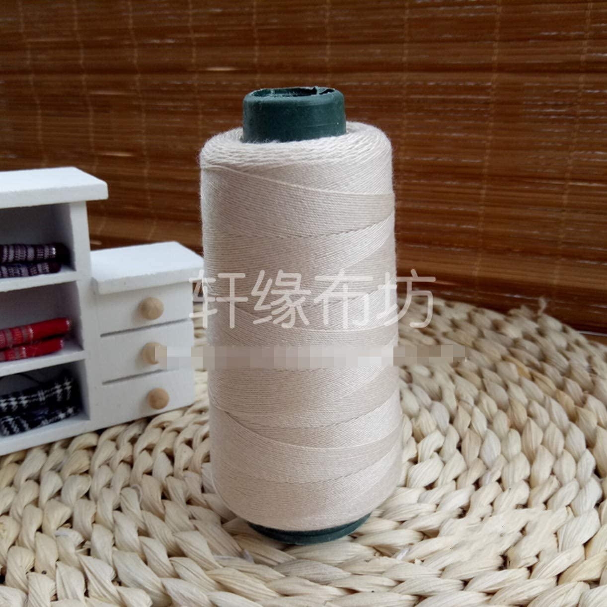 ZHONGJIUYUAN Spool Sewing Thread Cone Thread 1914Y Industrial Sewing Thread Machine 20s//3 Threads Sewing Accessories Dark Red