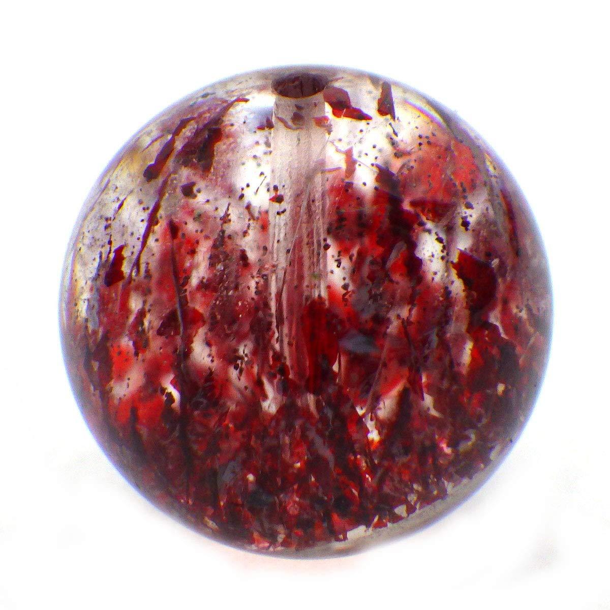 パワーストーン スーパーセブン バラ売り 14mm 天然石 ビーズ パーツ 1粒売り(014)   B07SX1FLP1