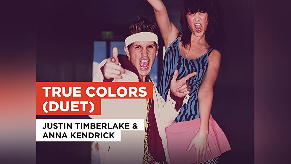 True Colors (Duet) in the Style of Justin Timberlake & Anna Kendrick
