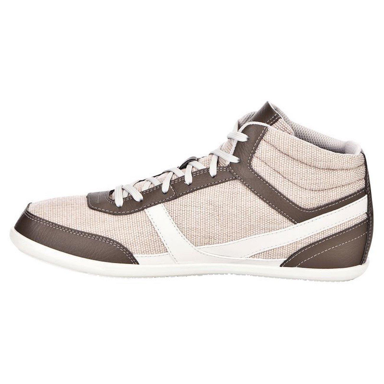 NEWFEEL - Zapatillas de Material Sintético para Hombre Beige Beige 40: Amazon.es: Zapatos y complementos