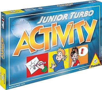 Piatnik 6037 Activity Junior Turbo - Juego de mesa (versión en alemán): Amazon.es: Juguetes y juegos