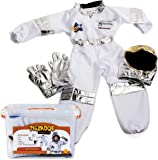 Tigerdoe Astronaut Costume For Kids - Space Costume accessories With Case - Dress Up Sets - Pretend Play (Astronaut Costume)