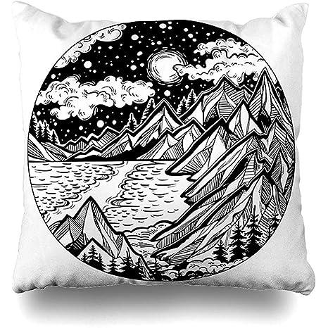 EVEI cushion covers Funda de cojín Vacaciones Alpes Escena ...