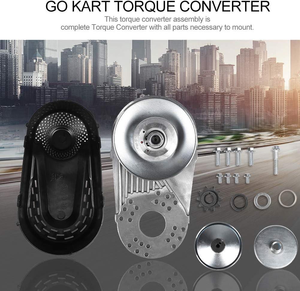 Yukiko 30 Series Torques Converter Go Kart Set Clutch 3//4inch 10T 40//41//420 Chain